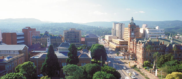 Pietermaritzburg, in KwaZulu-Natal, South Africa